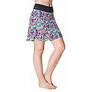 Womens Skirt Sports Go Longer Fitness Skirts - Holiday Print XS