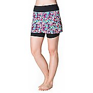 Womens Skirt Sports Hover Fitness Skirts - Holiday Print/Black L
