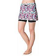 Womens Skirt Sports Lotta Breeze Fitness Skirts - Holiday Print L