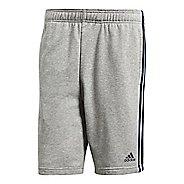 Mens adidas Essentials French Terry Unlined Shorts - Medium Grey/Navy L