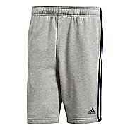 Mens adidas Essentials French Terry Unlined Shorts - Medium Grey/Navy S