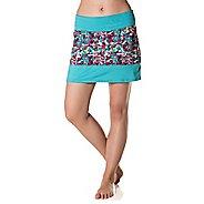 Womens Skirt Sports Mod Quad Fitness Skirts - Holiday/Aquamarine M