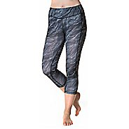 Womens Skirt Sports Pocketopia Capris Pants - Night Dive Print L