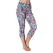 Womens Skirt Sports Pocketopia Capris Pants - Holiday Print XL