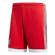 Mens adidas FC Bayern Munich Home Replica Unlined Shorts - True Red/ White M