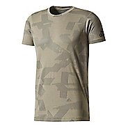 Mens adidas FreeLift Elevated T-Shirt Short Sleeve Technical Tops