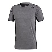 Mens adidas FreeLift Fitted Elite T-Shirt Short Sleeve Technical Tops