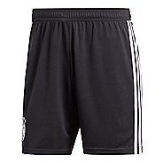 Mens adidas Germany Home Replica Unlined Shorts - Black/White XL