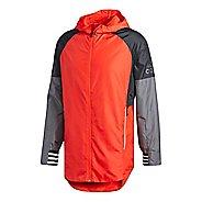 Mens adidas ID Running Jackets - Hi-Res Red XL