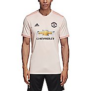 Mens Adidas Manchester United Away Replica Jersey Short Sleeve Technical Tops