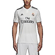 Mens Adidas Real Madrid Home Replica Jersey Short Sleeve Technical Tops