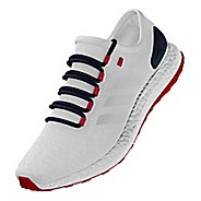 adidas PureBoost Stars and Stripes Running Shoe - White 10.5