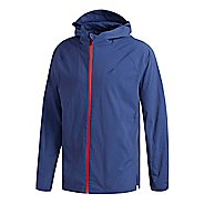 Mens adidas Sport ID Jacket Half-Zips & Hoodies Technical Tops - Noble Indigo M
