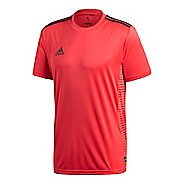 Mens adidas Tango Climalite Jersey Short Sleeve Technical Tops