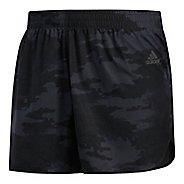 Mens adidas Response Split Unlined Shorts - Carbon/Black L