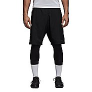 Mens Adidas Tango Shorts with Capris Tights