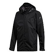 Mens adidas Wandertag Cold Weather Jackets - Black L