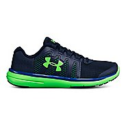 Kids Under Armour Micro G Fuel RN 2 Running Shoe - Green/Green 6Y
