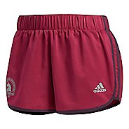 "Womens adidas Boston Marathon M10 Icon Shorts 3"" Lined Shorts"