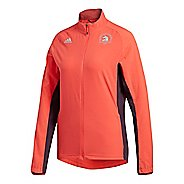 Womens adidas Boston Marathon Supernova Storm Rain Jackets