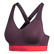 Womens adidas Boston Marathon Supernova Sports Bras - Noble Red S