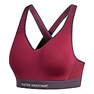 Womens adidas Boston Marathon Supernova Sports Bras - Mystery Ruby S