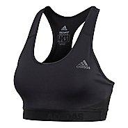 Womens adidas Don't Rest Alphaskin Sport Bras - Black S