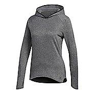 Womens adidas Response Astro Half-Zips & Hoodies Technical Tops - Grey S