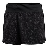 Womens adidas Supernova Glide Lined Shorts - Black S