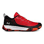 Kids Under Armour X Level MainShock AL Running Shoe - Black/Silver 11.5C