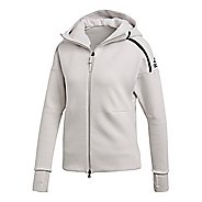 Womens adidas Z.N.E. Hoodie 2.0 Half-Zips & Hoodies Technical Tops