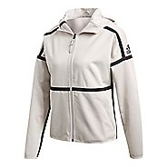 Womens adidas Z.N.E. Reversible Half-Zips & Hoodies Technical Tops