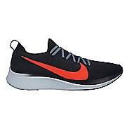 Mens Nike Zoom Fly Flyknit Running Shoe - Black/Crimson 9