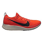 Mens Nike Zoom Fly Flyknit Running Shoe - Bright Crimson 9.5