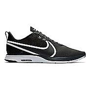 Mens Nike Zoom Strike 2 Running Shoe - Black/White 11.5