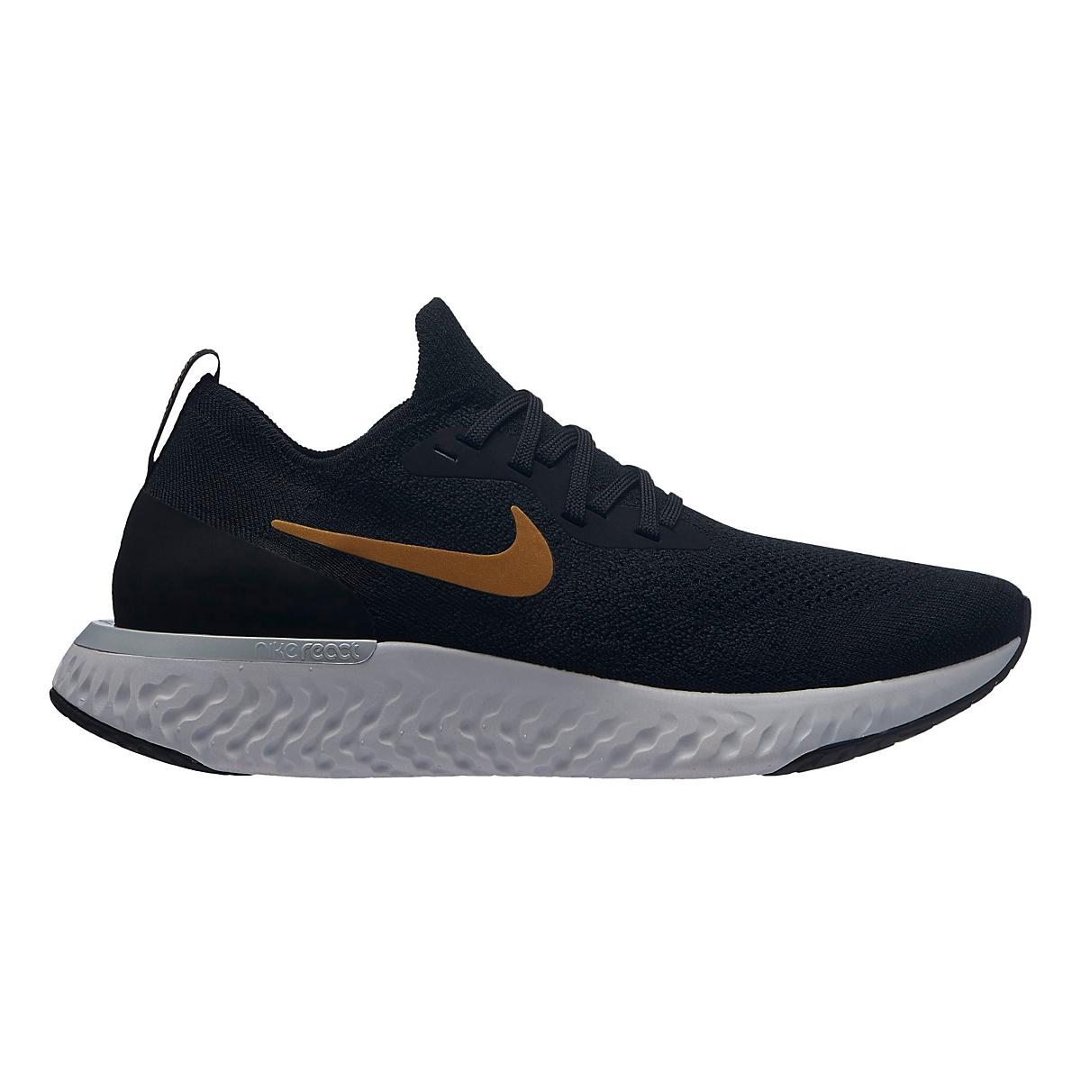a1ec0ab52898 Womens Nike Epic React Flyknit Metallic Running Shoe at Road Runner Sports