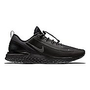 Mens Nike Odyssey React Shield Running Shoe - Black/Grey 11.5