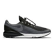 Mens Nike Air Zoom Structure 22 Shield Running Shoe - Black/Grey 8.5