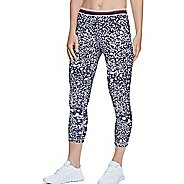 Womens Champion Authentic -Print Capris Pants