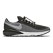 Womens Nike Air Zoom Structure 22 Shield Running Shoe - Black/Grey 8