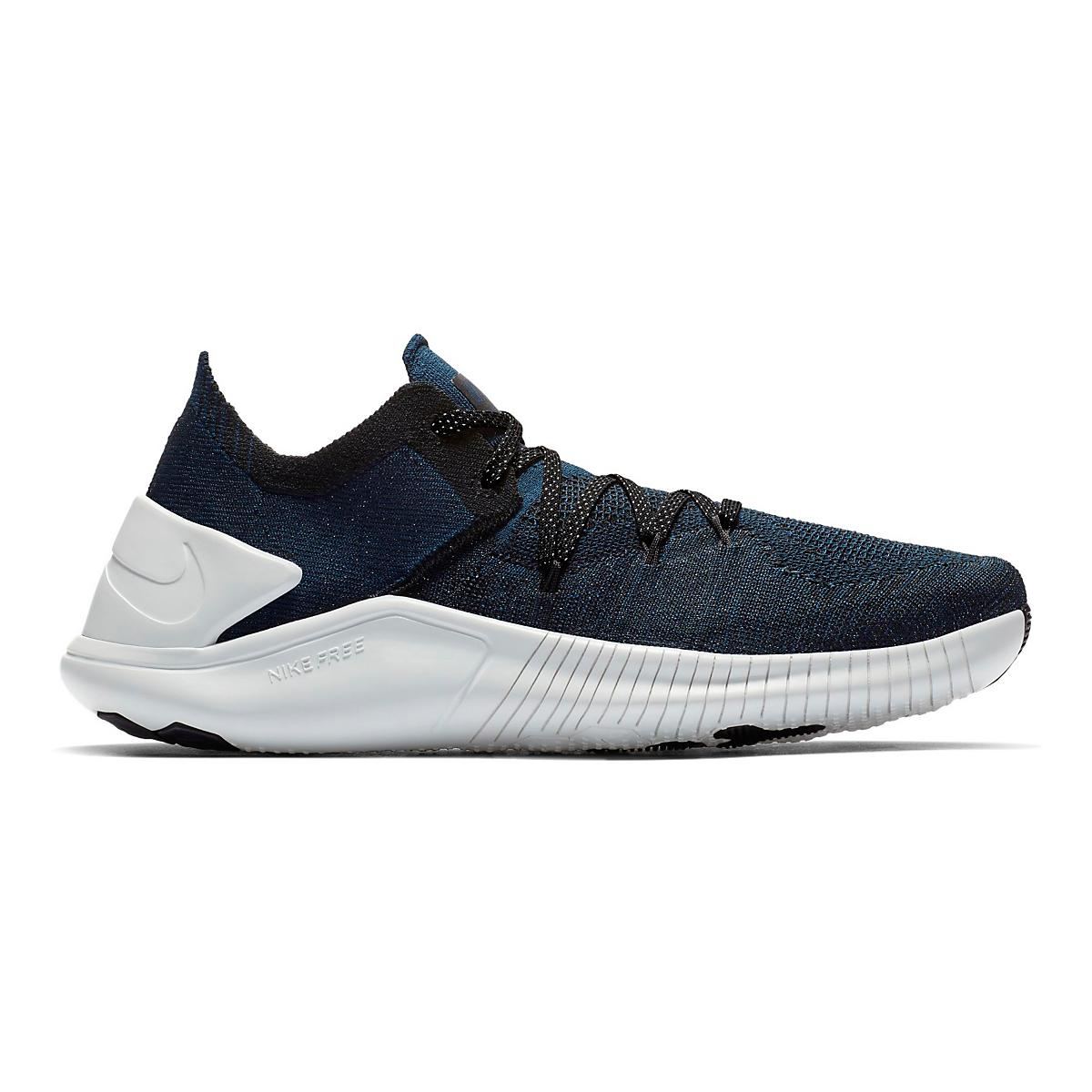 74a46fb6d0703 Womens Nike Free TR Flyknit 3 Metallic Cross Training Shoe at Road Runner  Sports