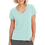 Womens Champion Authentic Wash Tee Short Sleeve Technical Tops