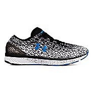 Mens Under Armour Charged Bandit 3 Ombre Running Shoe - Black/White/Studio 12