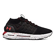Mens Under Armour HOVR Phantom NC Running Shoe - Black/White/Pierce 8