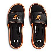 Mens Under Armour Ignite MLB V SL Sandals Shoe - Black/Orange/White 7