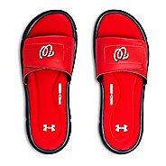 Mens Under Armour Ignite MLB V SL Sandals Shoe - Red/Navy/White 9