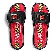 Mens Under Armour Ignite Collegiate V SL Sandals Shoe - Navy/Navy/Orange 10