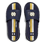 Mens Under Armour Ignite Collegiate V SL Sandals Shoe - Navy/Navy/Gold 7