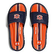 Mens Under Armour Ignite Collegiate V SL Sandals Shoe - Navy/Navy/Orange 10