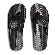 Mens Under Armour Marathon Key III T Sandals Shoe - Black/Grey 7